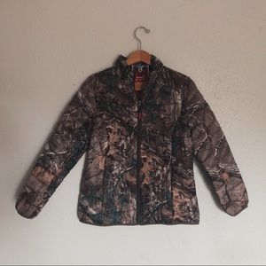 Realtree down camo coat